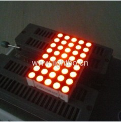 5 x 8 dot matrix led display;5 x 8 led do matrix display;