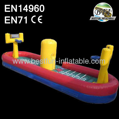 Inflatable Busketball Bungee Run