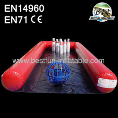 Inflatable Bowling Game For Sale