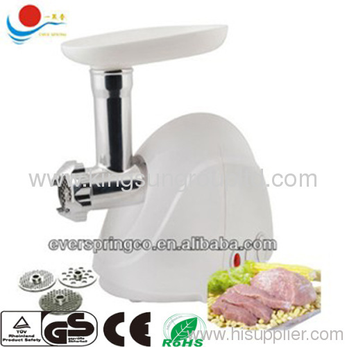 Mini electric meat grinder With CE ROHS CB