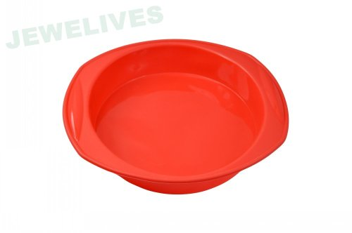 Jewelives Round Shape cake mould in Red color