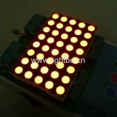 Bi-colour 5mm 5 x 8 Dot Matrix LED Display fo moving signs, traffic messages boards,quene management systms