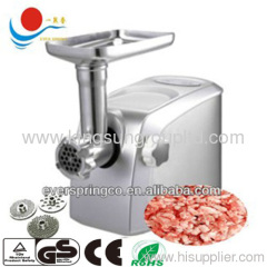 Powerful Electric Meat Grinder stainless steel housing