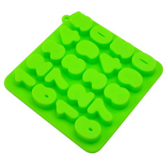 Silicone Ice cube tray in number shape