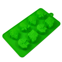 Silicone cooker mould in car shape