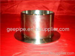 china ss long stub end pipe fitting