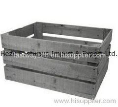 supply wooden storage crate