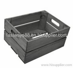 supply cheap wooden crate
