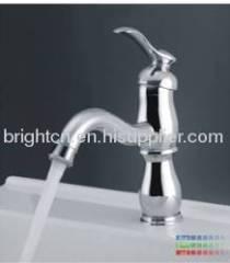 LED single hole basin faucet