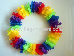 promotion flower lei garland/ follower necklace