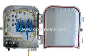 MDU fiber optic splitter terminal