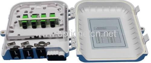 Outdoor 8 fibers Optic Fiber Termination Box