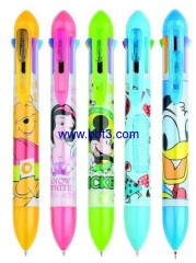 7 in 1 Disney promotional ballpen and mechanical pencil