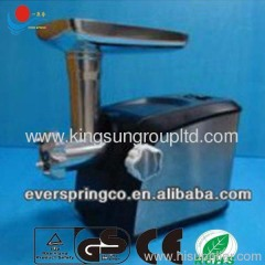Electric stainless steel meat grinder With CE ROHS GS