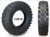 Heavy duty truck tire 7.50-16