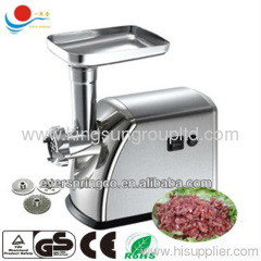 1800W Stainless steel elctric meat grinder from ZhongShan