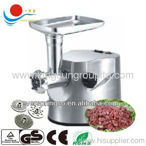 2500W Meat Grinder Aluminium material with GS/CE/ROHS/SASO