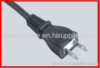 Japanese 2pin PSE plug with cords