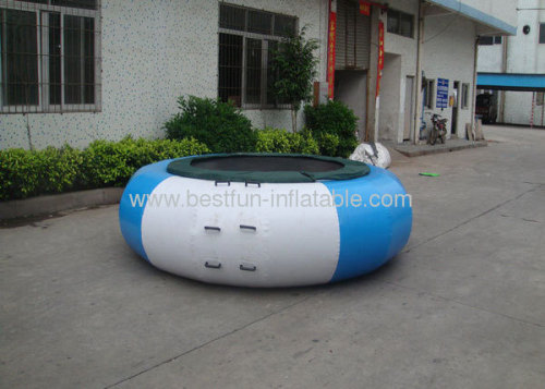 0.9mm Pvc Tarpaulin Big Inflatable Water Bouncer