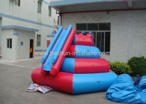 Inflatable Water Slide For Kids Used In The Sea