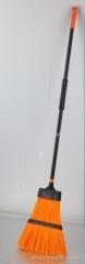 Telescopic garden grass broom for garden clearing