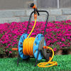 Water Hose Trolley With Wheel With 30M PVC Garden Hose Set
