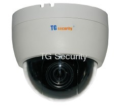 Indoor Installation CCTV Mini High Speed Dome 600TVL ,12X Optical Zoom Camera