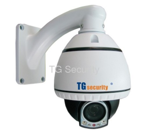 High Resolution 650TVL 100X Mini IR PTZ Camera
