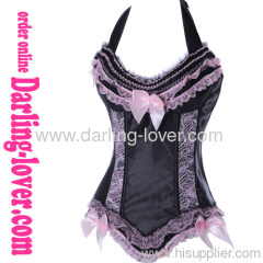 Sexy Pink Lace Hot Sale Corset