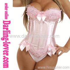 Hot Sexy Classic Pink Fashion Corset