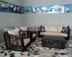 2013 New Garden round wicker sofa set outdoor furniture