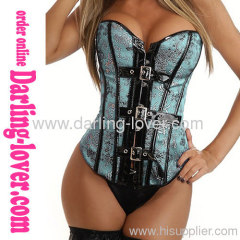 Sexy Classic Green Cosplay Corset