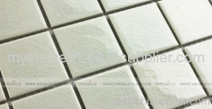 Decorative glossy ceramic mosaic