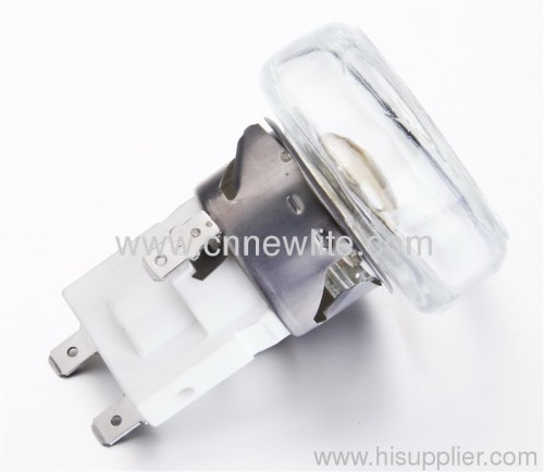 square ceramic lampholder for oven