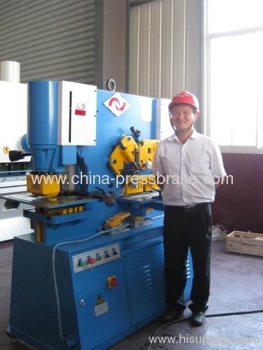 hydraulic metal shearing Q35Y-50E IW-300T