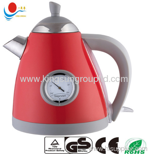 1.2 L with thermometer cordless electric kettle cordless