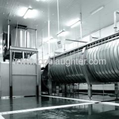 Slaughterhouse equipment poultry chiller