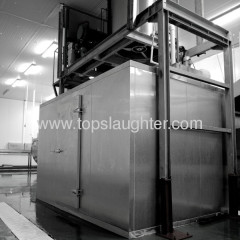 Chicken slaughtering machine ice flaker and maker