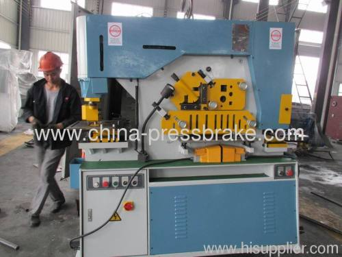multi functional ironworker machinery