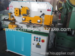 universal hydraulic iron workers machine