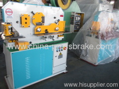 universal hydraulic iron worker machine