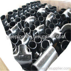 seamless carbon steel pipe tee from hebei