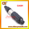 3 Pole Unisex XLR Cable Connector CA301