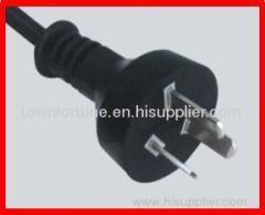 IRAM 3pin plug with cords