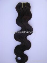 100% human hair body wave hair weaving