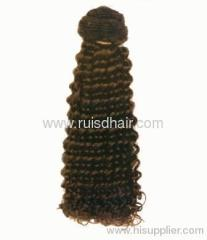 Spring Curl machine wefted hair