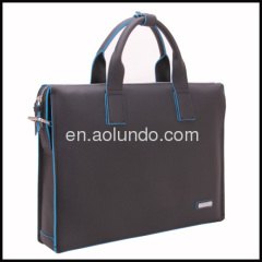Men's leather briefcase 2013 tote laptop bag