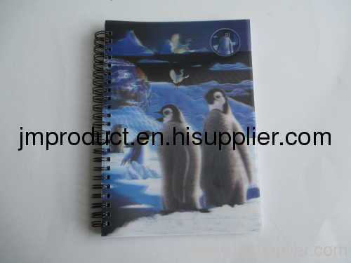 3D fashion notebook for school