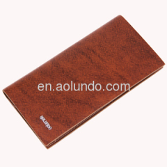 New arrival stylish wallet europe mens genuine leather wallet wholesale