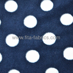 Print polar fleece fabric Soft warm